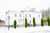 Russian building in winter — Stock Photo