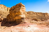Winter abrasion in Timna Park, Israel — Stock Photo