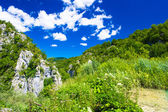 Incredible landscape in of the nature in Croatia — Stock Photo