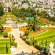 View of Bahai Gardens, Haifa, Israel — Stock Photo
