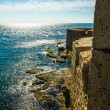 Walls in the Mediterranean Sea — Stock Photo