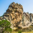 Incredible spectacular view of stone formations of Mount — стоковое фото #16924763