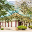 Beautiful Pavillion in summer in Myohyang-san, North Korea — Stock Photo
