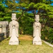 Tomb of King Kongmin, a 14th-century mausoleum, North Korea — ストック写真
