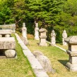 Tomb of King Kongmin, a 14th-century mausoleum, North Korea — Stock Photo
