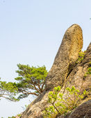 Formations on the Mount Kumgang in Kangwon-do, North Korea. — Stock Photo