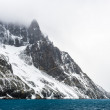 Drygalski Fjord, a bay - Stock Photo