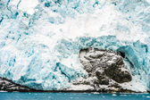 Drygalski fjord, einer bucht — Stockfoto