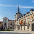 Stock Photo: Architecture of Madrid, capital of Spain
