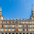 Architecture of Madrid, the capital of Spain — Stock Photo