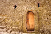 Ethiopia, Lalibela. Moniolitic rock cut church — ストック写真