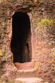 Ethiopia, Lalibela. Moniolitic rock cut church — Стоковое фото