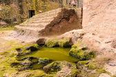 Etiopía, lalibela. moniolitic roca corte iglesia — Foto de Stock