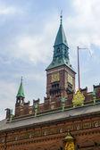 Architecture of Copenhagen, the capital of Denmark, — Stock Photo