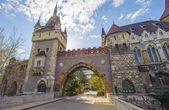 Arkitekturen i budapest, ungern, agicultural museum — Stockfoto