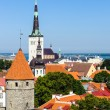 Stock Photo: Historic Centre (Old Town) of Tallinn, Estonia. UNESCO World Heritage