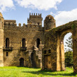 Stock Photo: Castle of Fasilides, Gondar, Africa