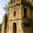 Stock Photo: UNESCO World Heritage Site. Fasilides Castle in Gondar, Ethiopia, Africa
