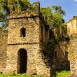 UNESCO World Heritage Site. Fasilides Castle in Gondar, Ethiopia, Africa — ストック写真