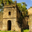UNESCO World Heritage Site. Fasilides Castle in Gondar, Ethiopia, Africa — Foto de Stock