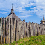 Island Hortitsia, Zaporozhie, Ukraine — Stock Photo #30583763