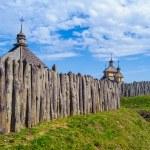 Island Hortitsia, Zaporozhie, Ukraine — Stock Photo #30583765