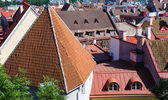 Historic Centre (Old Town) of Tallinn, Estonia. UNESCO World Heritage — Stock Photo