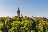Luxembourg, capital of Luxembourg — Stock Photo