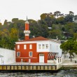 View from the Bosphorus river, Istanbul, Turkey — Stock Photo