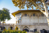 Topkapi Palace, the primary residence of the Ottoman Sultans, Is — Stock Photo