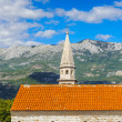 Budva riviera, coast of Montenegro — Stock Photo