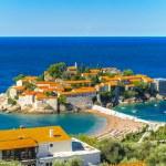 ������, ������: Budva riviera coast of Montenegro