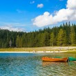 Black Lake, Northern Part of Montenegro — Stock Photo