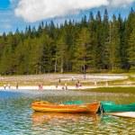 Black Lake, Northern Part of Montenegro — Stock Photo #34953883