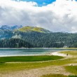 Black Lake, Northern Part of Montenegro — Stock Photo #34954013