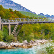 Tara river, Montenegro — Stock Photo