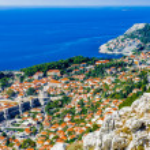 Old City of Dubrovnik (Croatia — Stock Photo