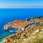 Old City of Dubrovnik (Croatia — Stock Photo #34957689