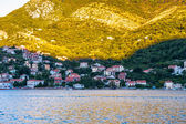 Bay of Kotor, a winding bay of the Adriatic Sea in southwestern — Stock Photo
