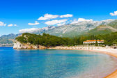 Budva riviera, coast of Montenegro — Stockfoto