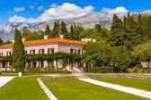 Budva riviera, coast of Montenegro — Stock Photo