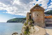Budva riviera, sahil Karadağ — Stok fotoğraf