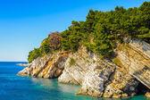 Budva riviera, coast of Montenegro — Foto de Stock