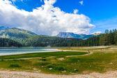 Black Lake, Northern Part of Montenegro — Stock Photo