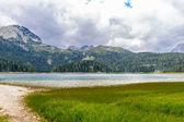 黑湖,黑山北部 — 图库照片