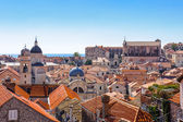 Old City of Dubrovnik (Croatia — Stock Photo