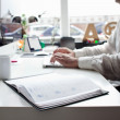 Working in the office — Stock Photo