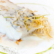 Cooked hake — Stock Photo