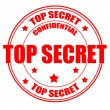 Royalty-Free Stock Vectorielle: Top Secret stamp