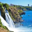 Stock Photo: Waterfall in Turkey, Alanya